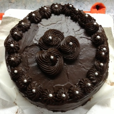 Chocolate Orange Marble Cake Eggless