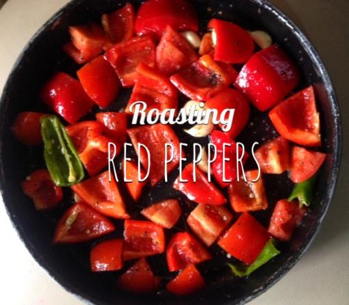 roasting red pepper