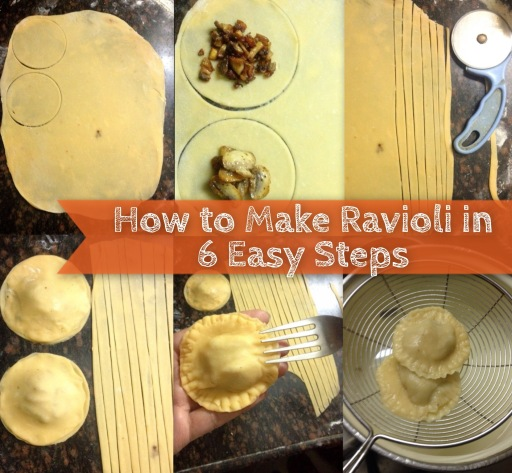 homemade raviolis