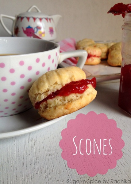 eggless scones