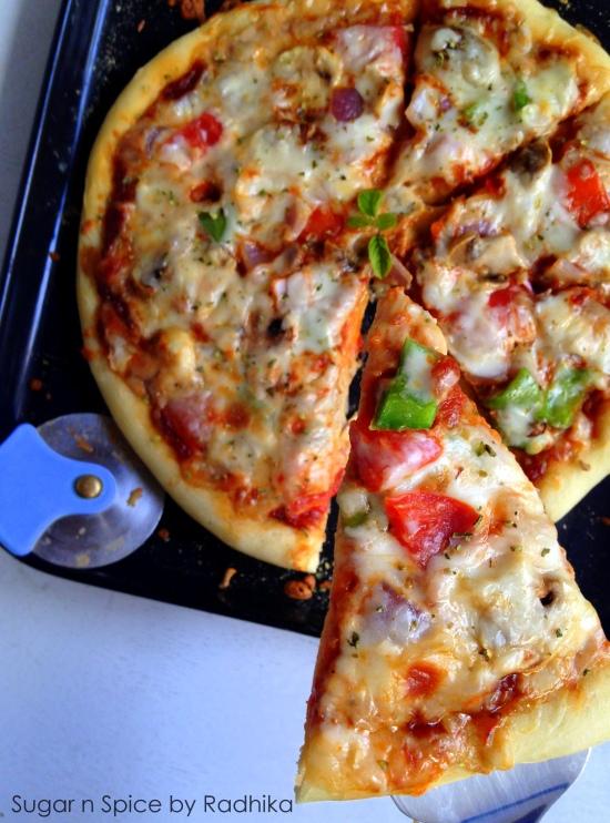 Veggie Pizza at Home