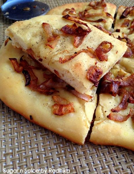 Caramelized Onion Focaccia Bread