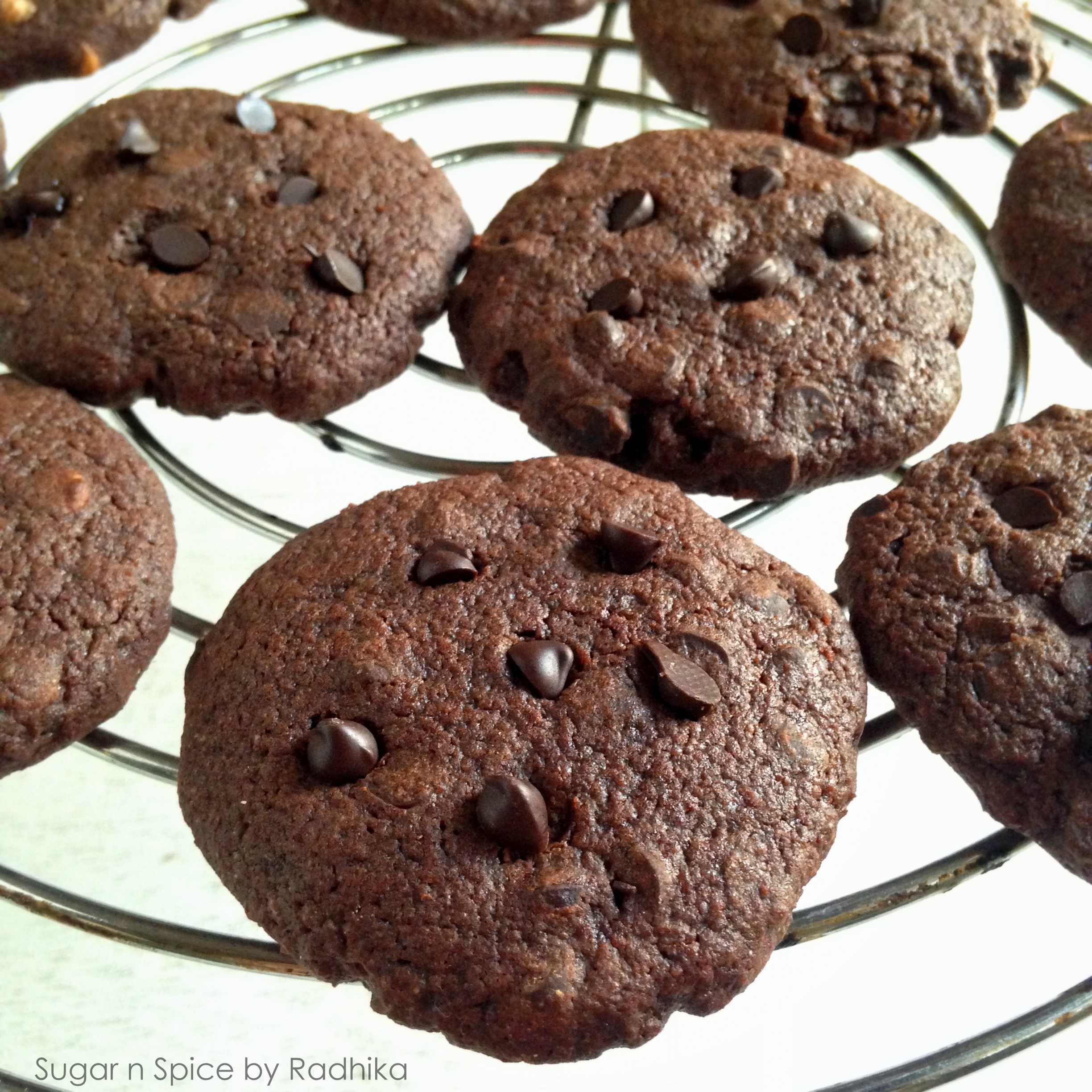 Dark chocolate chip cookie recipe