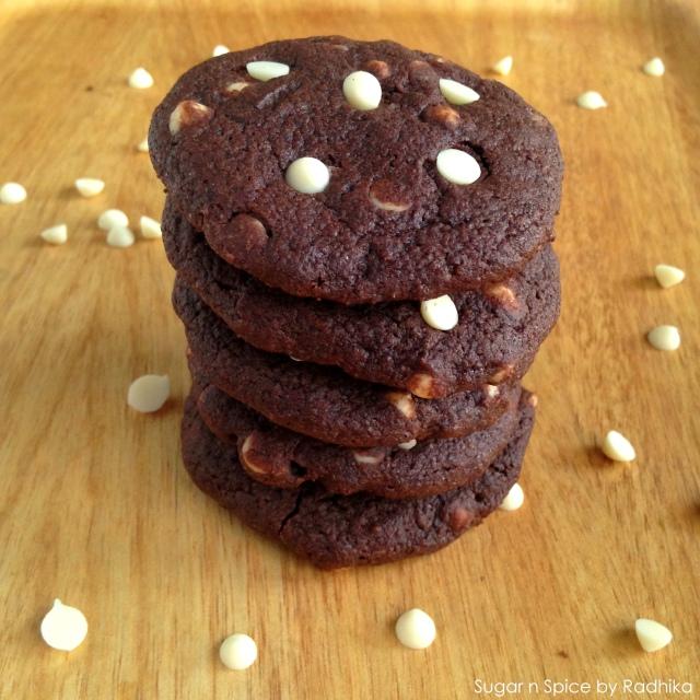 Ultimate Dark Chocolate Chip Cookies