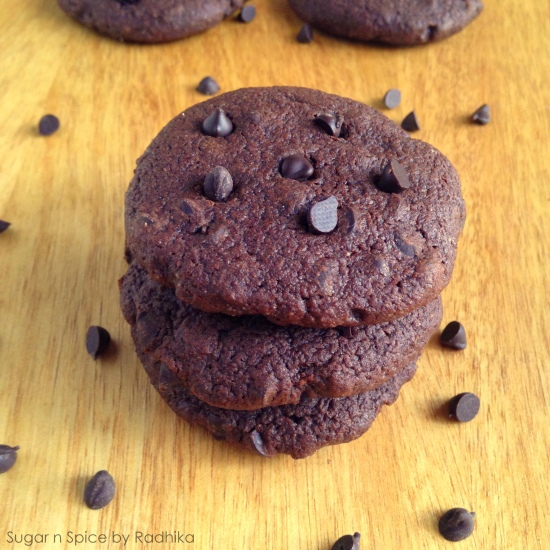 Ultimate Dark Chocolate Chip Cookies