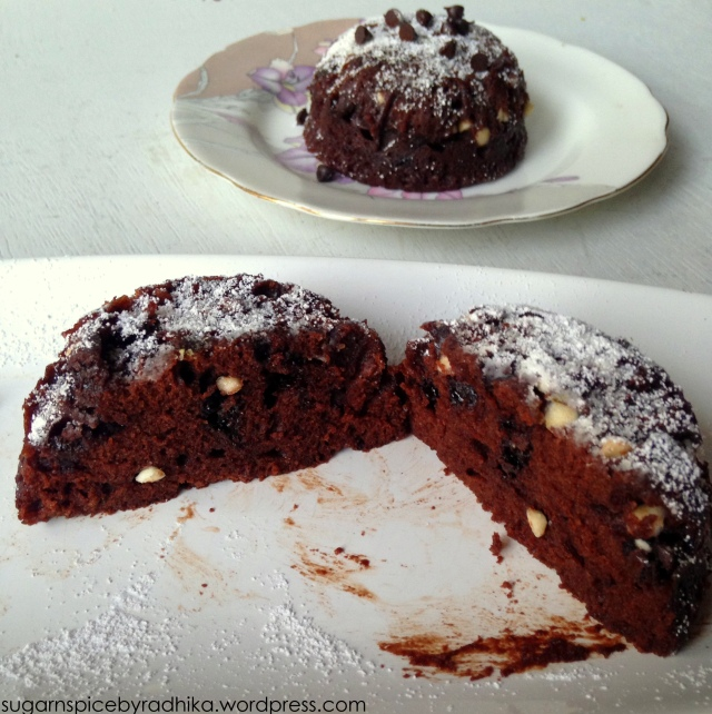 Quick and Easy-1 Minute Chocolate Cake