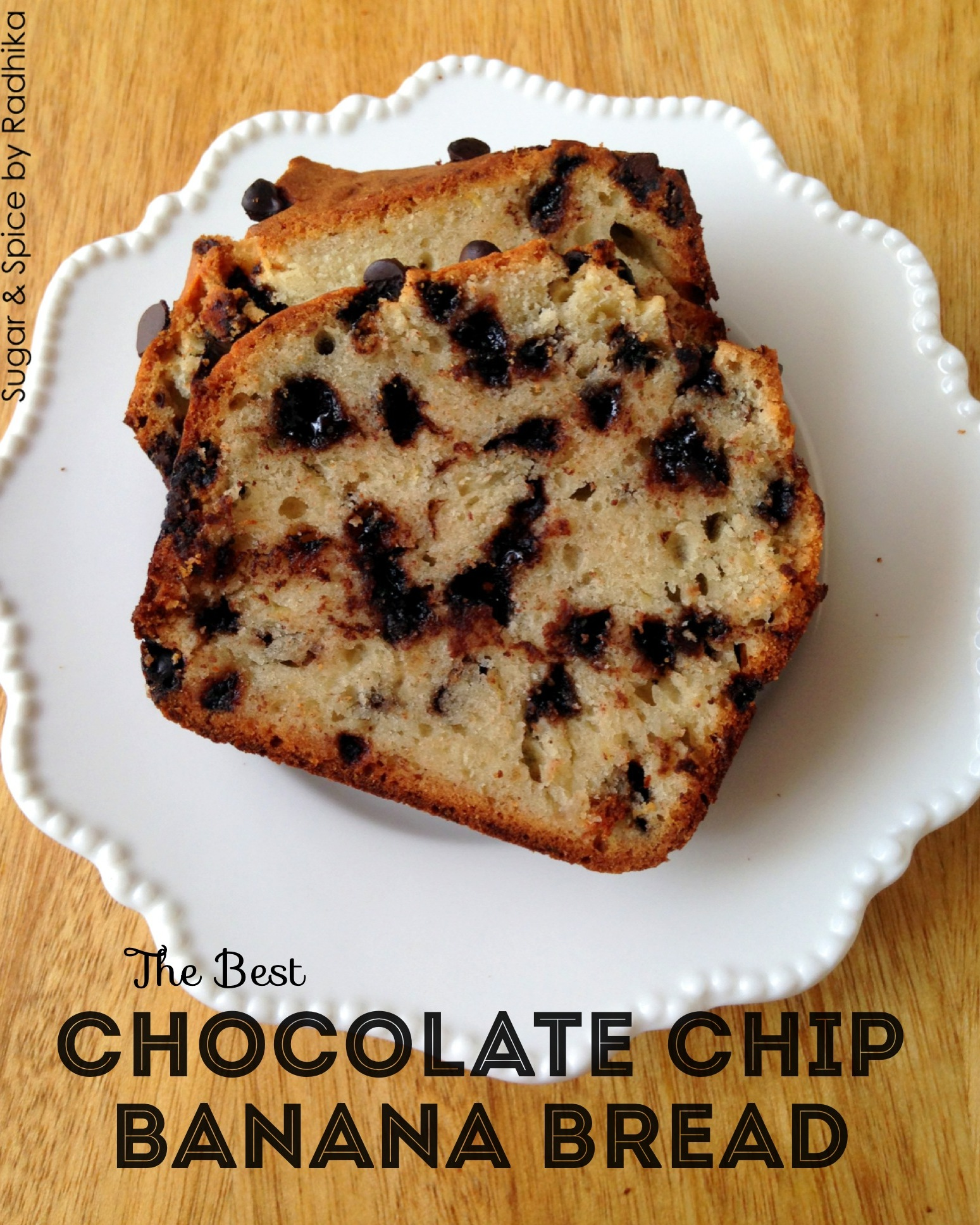 this Chocolate Chip Banana Bread has many fans! This banana+chocolate ...