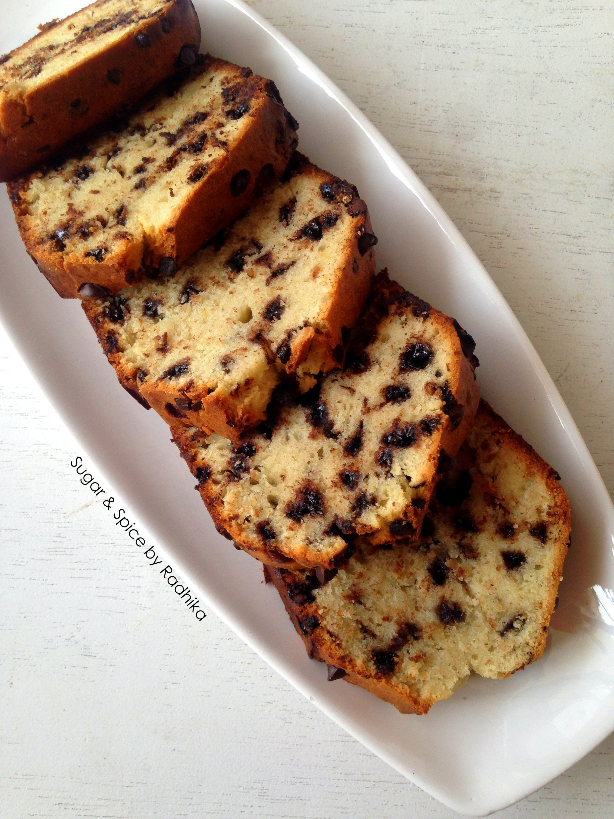 The Best-Chocolate Chip Banana Bread |