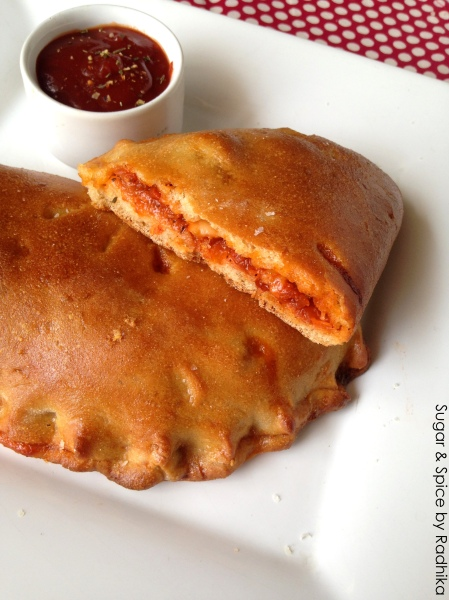 Wholewheat Calzones