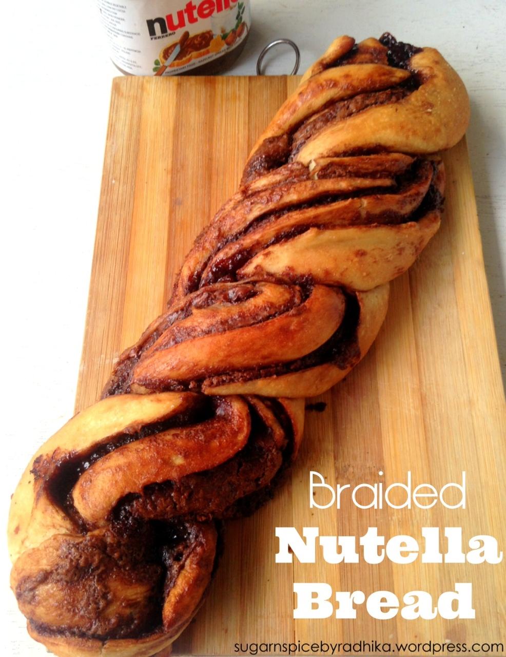 RECIPE: Braided Nutella Bread