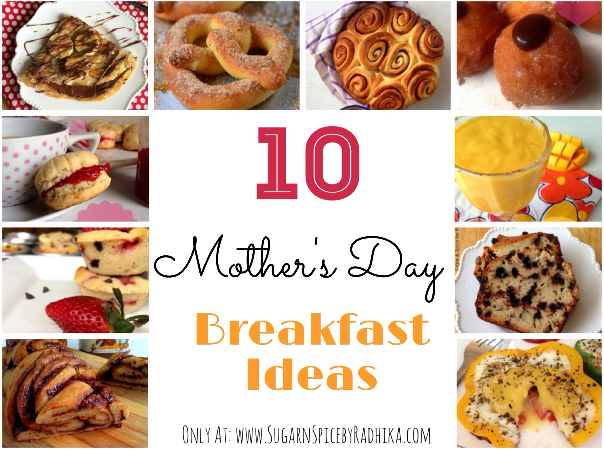 Mother 39 s day breakfast ideas sugar spice by radhika for Breakfast ideas for mom