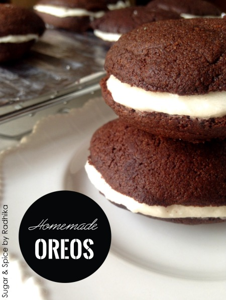 Homemade Oreos (Eggless)