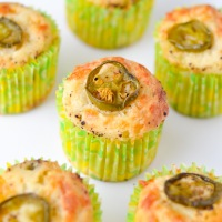 Cheese and Jalapeno Muffins (Eggless)