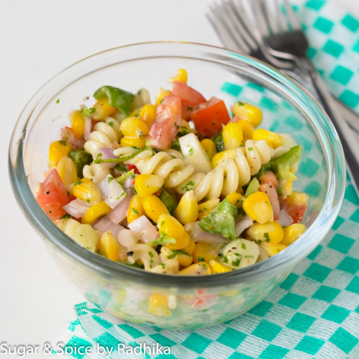 Sweet Corn and Pasta Salad