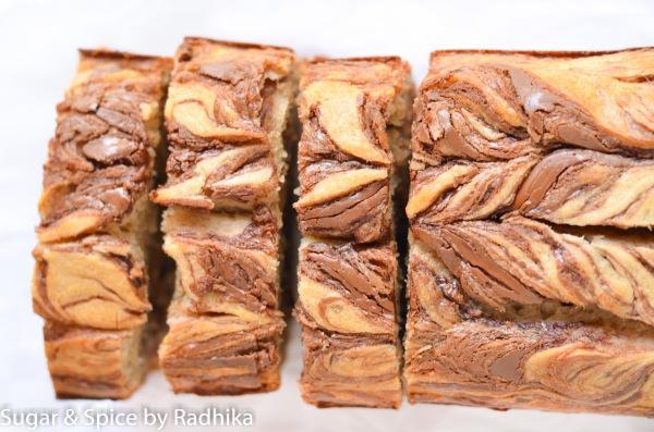 Nutella Swirl Banana Bread