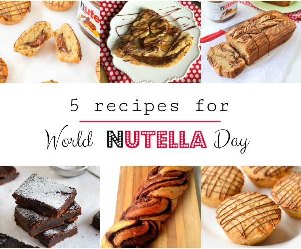 5 Recipes for World Nutella Day