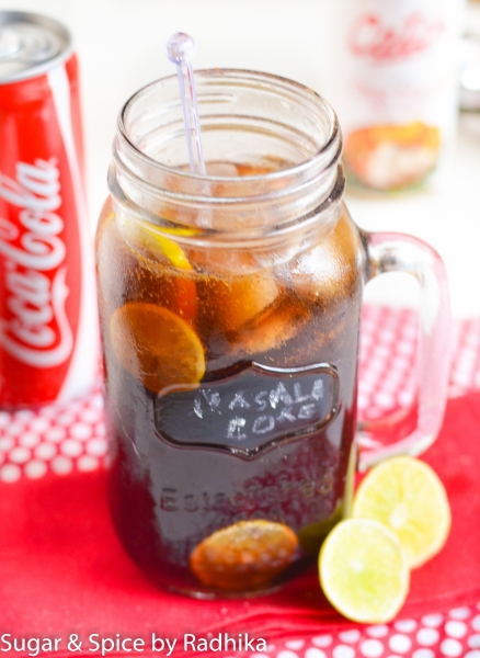 Masala Coke Cocktail
